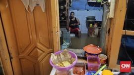 FOTO: Kebon Pala Jakarta Diterjang Banjir Lagi