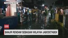 VIDEO: Banjir Rendam Sebagian Wilayah Jabodetabek