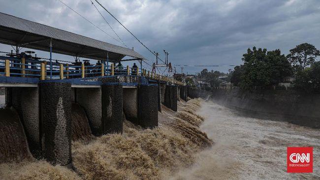 Kementerian PUPR menganggarkan Rp4,5 triliun untuk program penanggulangan banjir pada tahun ini.