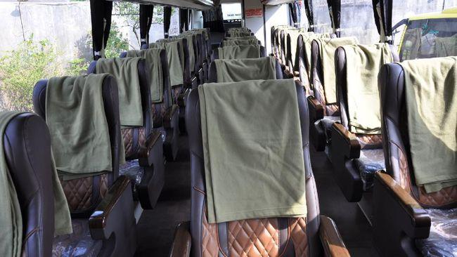Merancang bus menerapkan konsep jaga jarak merupakan kreativitas perusahaan otobus untuk menghadapi pandemi, agar roda bisnis tetap berjalan.