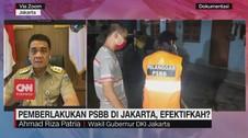 VIDEO: Efektivitas Pemberlakuan PSBB di Jakarta