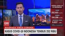 VIDEO: Kasus Covid-19 Indonesia Tembus 252 Ribu