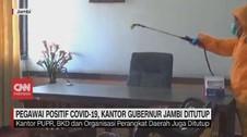 VIDEO: Pegawai Positif Covid-19, Kantor Gubernur Jambi Tutup