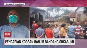VIDEO: Pencarian Korban Banjir Bandang Sukabumi