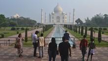 Protokol Kesehatan Taj Mahal: Turis Diminta Kurangi Selfie