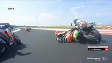 VIDEO: 5 Kecelakaan di MotoGP Emilia Romagna