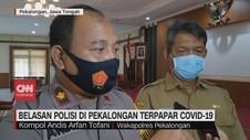 VIDEO: Belasan Polisi di Pekalongan Terpapar Covid-19