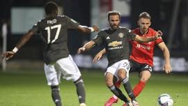 Hasil Lengkap Piala Liga Inggris: MU Hajar Luton 3-0