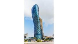 Pencakar Langit Meliuk yang Hampir Runtuh di Abu Dhabi