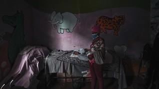 FOTO: Surga Anak-anak Difabel di Antara Kampung Kumuh Kenya