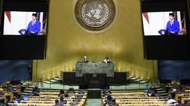 FOTO: Sidang PBB Dilaksanakan Virtual saat Pandemi