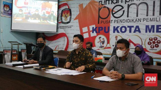 Melalui rapat pleno, KPU Kota Medan menetapkan Pilwalkot Medan diikuti dua pasangan calon yakni Bobby-Aulia dan Akhyar-Salman.