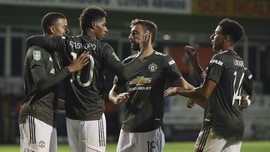 FOTO : Manchester United Mulus di Piala Liga
