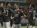 Hasil Liga Inggris: Dramatis, MU Kalahkan Brighton 3-2