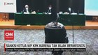 VIDEO: Sanksi Ketua WP KPK Karena Tak Bijak Bermedsos
