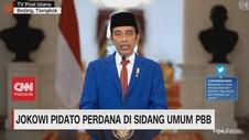 VIDEO: PBB Sidang Virtual, Jokowi Pidato Perdana