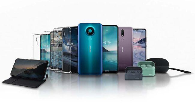 Nokia 2.4, Nokia 3.4, dan Nokia C3 dijual dengan harga relatif terjangkau.