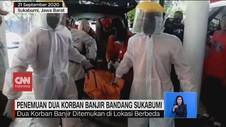 VIDEO: Penemuan 2 Korban Banjir Bandang Sukabumi
