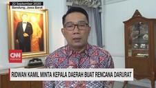 VIDEO: Ridwan Kamil Minta Kepala Daerah Buat Rencana Darurat
