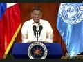 Duterte Bahas Perang Narkoba sampai Vaksin di Sidang Umum PBB