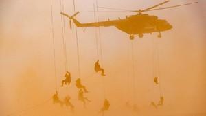 FOTO: Rusia Gelar Latihan Militer Gabungan Kaukasus 2020