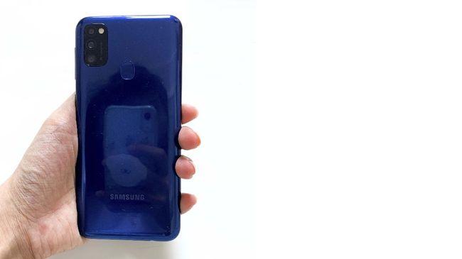 Di tengah pandemi Covid-19, Samsung meluncurkan Galaxy M21 yang memiliki keunggulan dari sisi baterai dan kamera.