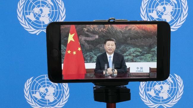 Pertemuan Sidang Majelis Umum Perserikatan Bangsa-Bangsa (PBB) ke-75 dilaksanakan secara virtual di tengah pandemi Covid-19.