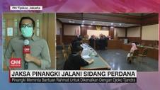 VIDEO: Jaksa Pinangki Jalani Sidang Perdana
