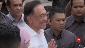 VIDEO: Anwar Ibrahim Klaim Punya Dukungan Jadi PM Malaysia