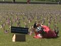 VIDEO: 200 Ribu Bendera AS 'Rayakan' Jumlah Kematian Covid-19