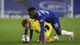 Kai Havertz sukses mencetak hattrick dan mengantar Chelsea menang 6-0 atas Barnsley di ajang Piala Liga.