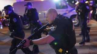 Demo Kematian Taylor Ricuh, Dua Polisi Louisville Tertembak