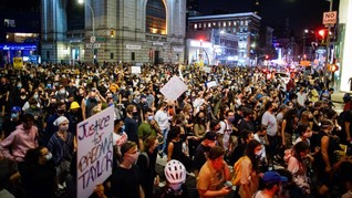 Demo di AS Tuntut Polisi Penembak Wanita Kulit Hitam Dihukum
