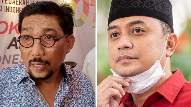 Survei Cyrus Network di Pilkada Surabaya menyatakan elektabilitas cawalkot Eri Cahyadi unggul 21,5 persen dari Machfud Arifin.