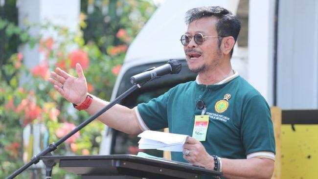 Menteri Syahrul Yasin Limpo mengatakan kemajuan sektor pertanian bukan semata tugas Kementan, melainkan seluruh elemen masyarakat.