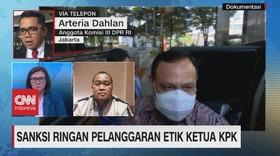 VIDEO: Sanksi Ringan Pelanggaran Etik Ketua KPK