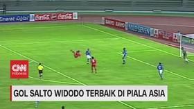 VIDEO: Gol Salto Widodo Terbaik di Piala Asia