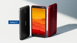 Spesifikasi dan Harga Nokia C1 yang Meluncur di Indonesia