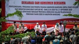 Bawaslu Kabupaten Bandung Sita Paket Sembako Berstiker Paslon