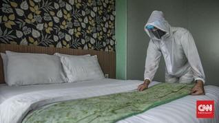 437 Pasien Covid-19 Jalani Isolasi Mandiri di 3 Hotel Jakarta