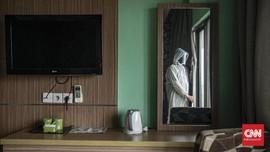 Okupansi Hotel Isolasi Mandiri di DKI Jakarta 57 Persen