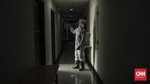 FOTO: Persiapan Hotel Tempat Isolasi Pasien Corona di Bekasi