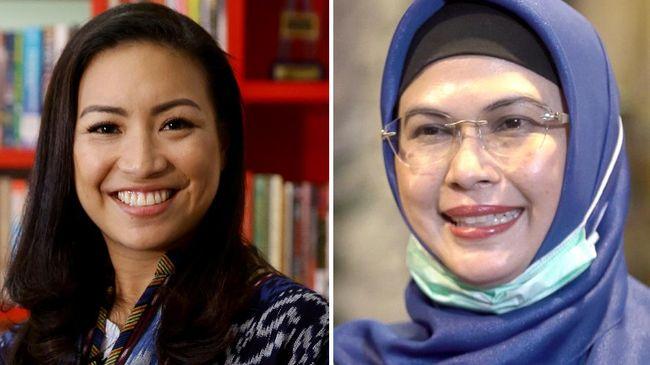 Rahayu Saraswati dan Siti Nur Azizah masih memiliki elektabilitas yang lebih sedikit dibanding calon petahana Benyamin Davnie di Pilkada Tangsel.