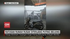 VIDEO: Ratusan Rumah Rusak Diterjang Puting Beliung