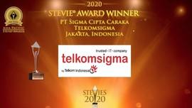 Aplikasi INGENIUM Telkomsigma Raih Penghargaan Stevie Awards