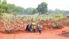 VIDEO: Angka Pemakaman di TPU Khusus Covid-19 Bertambah