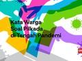 VIDEO: Kata Warga Soal Pilkada di Tengah Pandemi