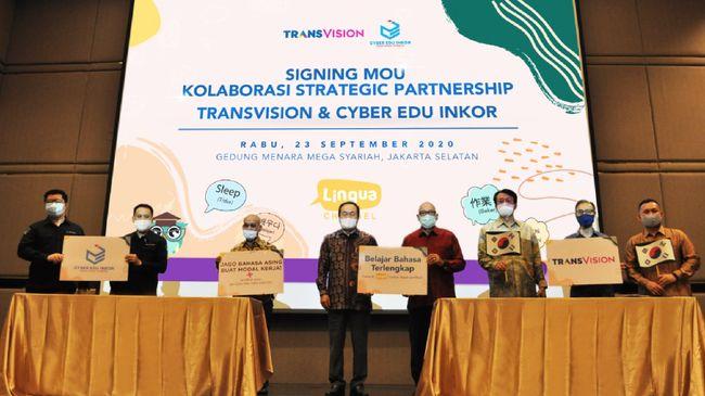 Bekerja sama dengan Cyber Edu Inkor (CEI), Transvision menghadirkan belajar Bahasa Korea dengan metode asyik dan berbeda.