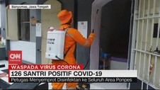 VIDEO: 126 Santri di Banyumas Positif Covid-19