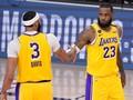 FOTO: LeBron dan Davis Ngamuk, Lakers Hajar Nuggets